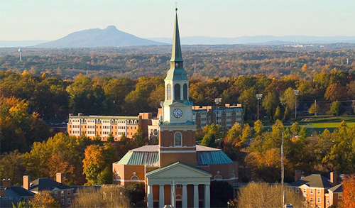 Wake Forest University Top Online School Counseling Degree
